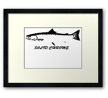 salmon. Framed Print