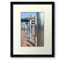 Volunteer Walk - Sydney 2000 Olympics Framed Print