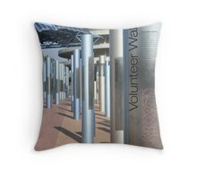 Volunteer Walk - Sydney 2000 Olympics Throw Pillow