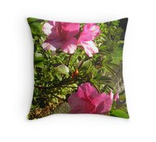 Pure Pink Throw Pillow