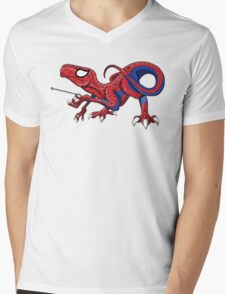 The Amazing Spideraptor! Mens V-Neck T-Shirt