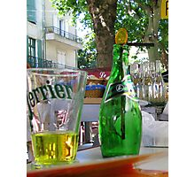 Perrier Photographic Print