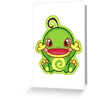 Politoed Greeting Card