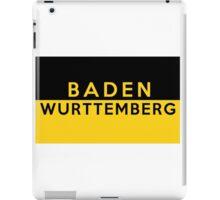 Baden Wurttemberg germany flag iPad Case/Skin
