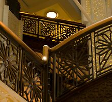 Staircase detail in The Rookery by lovethrugrace
