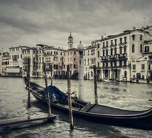Venetian landscape by Roberto Pagani