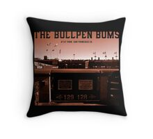 The Bullpen Bums 2015 Throw Pillow