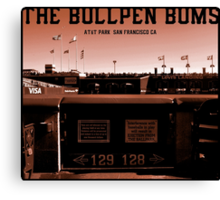 The Bullpen Bums 2015 Canvas Print