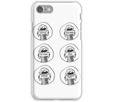 Set of 6 Bucky drawings iPhone Case/Skin