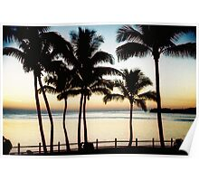 Fiji Sunset Poster