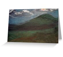 Valley of the Wind Greeting Card