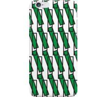 Green Rectangle Pattern iPhone Case/Skin