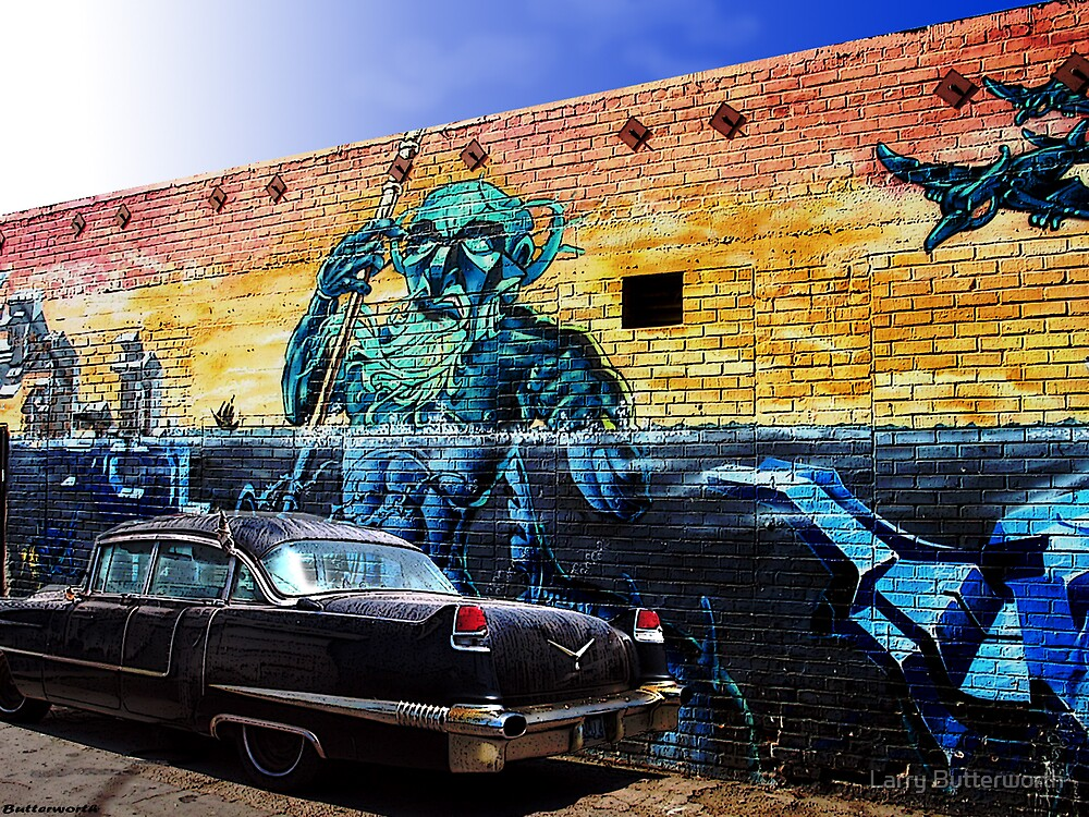Black Cadillac by Larry Butterworth