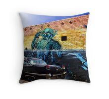 Black Cadillac Throw Pillow