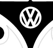 VW splittie bus outline Sticker