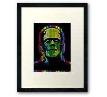 TECHNICOLOR FRANKIE Framed Print
