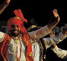 Punjabi Bhangra dancers by lailak