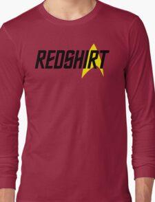 Federation Redshirt Design Long Sleeve T-Shirt
