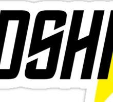 Federation Redshirt Design Sticker