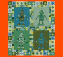 Green Robot Kids Tee