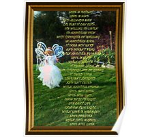 The Love Chapter Poem Poster