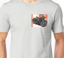 Hydra Glide, orange panel Unisex T-Shirt
