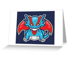 Salamence Greeting Card