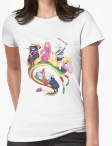 Adventure Girls Womens Fitted T-Shirt