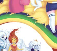 Adventure Girls Sticker