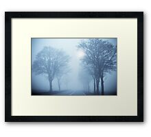 The road is broad that leads to destruction Framed Print