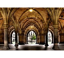 Cloisters at the University Photographic Print