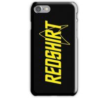 Federation Redshirt Design iPhone Case/Skin