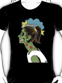 Zombie Pop Art Pin up Skull T-Shirt