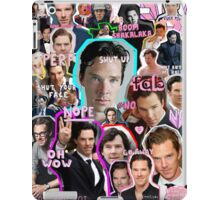 benedict cumberbatch collage iPad Case/Skin