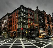 New York City - SoHo 006 by Lance Vaughn