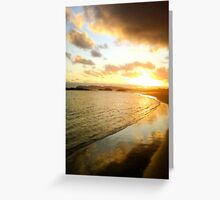 Greens Pools Sunset, William Bay National Park Greeting Card