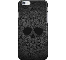Floral Skull iPhone Case/Skin