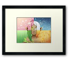 Dryad Seasons Framed Print