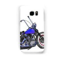 Knucklehead bobber in colour Samsung Galaxy Case/Skin