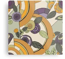 Winterflowers - Deco Metal Print