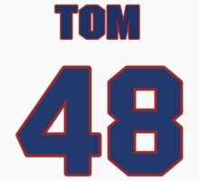 National baseball player Tom Edens jersey 48 by imsport