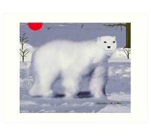PA~PA BEAR Art Print