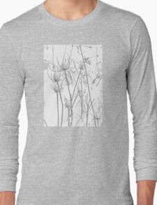 Teasels and Snow Long Sleeve T-Shirt