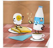 Breakfast Boogie Poster
