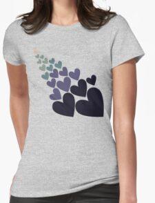 Retro blue love T-Shirt