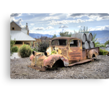 Rusty is Back! Canvas Print