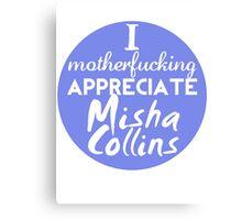 Motherf**king Misha Canvas Print