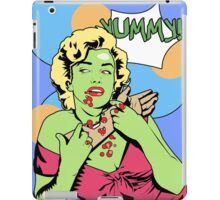 Zombie Pop Art Pin up with arm iPad Case/Skin