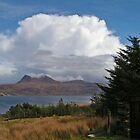 Storm Cloud over Little Loch Broom by Kat Simmons