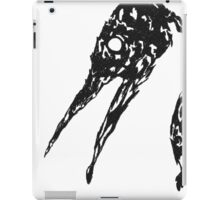 Bird Fossil - Head Design iPad Case/Skin